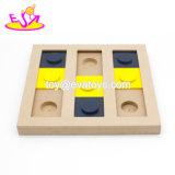 Juguetes de madera del perrito de los mejores juegos interactivos de la venta para el escondite W06f069 del alimentador del animal doméstico