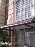 Het beste het Verkopen Afbaarden van de Regen van het Aluminium Afbaardende met het Blad van het Polycarbonaat