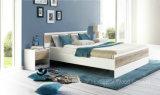 Ensemble de chambre à coucher laqué blanc moderne (HF-EY08061)