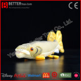 Jackfish realístico do brinquedo do luxuoso de Pike do norte de animal enchido