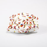 3 Camadas de Pano Spunlace em cores da moda Carta máscara descartável