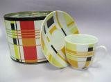 Conjunto de café de porcelana (M07037-D989D)