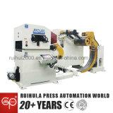 自動機械NCサーボストレートナの送り装置およびUncoiler出版物ラインで使用する