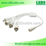 Divisor de potencia DC impermeable LED