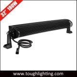 30 pulgadas 180W se doblan las barras ligeras curvadas fila del LED de la azotea blanca del vehículo para la venta