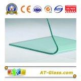 vetro Tempered/vetro temperato di 8mm 10mm usato per il vetro di vetro della mobilia della stanza da bagno