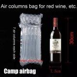 Kundenspezifischer aufblasbarer gepolsterter Rotwein-verpackenluft-Spalte-Beutel