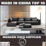 Sofá Home em forma de L de couro do canto da mobília
