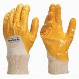 Überzogene Handschuhe des BaumwolleIntrelock Zwischenlage-Nitril-3/4 (GS-6004)