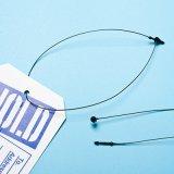 [Sinfoo] 9 polegadas de pinos de fechamento plásticos do laço para o vestuário etiquetam (PL006N-9)