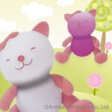Magic Light Giimmo jouets pour animaux familiers - Kitty (LLMLLP021T)