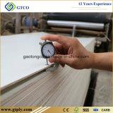 tarjeta blanqueada pegamento de la madera contrachapada de Lvb del álamo E0 de 15m m para los muebles