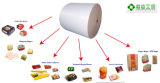 Doubel toma o partido papel revestido do PE para copos, caixas da restauração da linha aérea, sanduíche/caixas da pepita, sacos dos sacos de papel SOS
