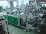 Línea doble automática bolso plástico de Rql del paño que hace la máquina