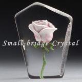 2D Crystal Rose el bloque (BSA001)