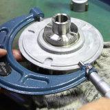 Volant en acier de usinage de pièce de moulage d'aluminium d'aimant de garniture intérieure de fente de pivot de haute précision de commande numérique par ordinateur pour la machine de fouille de construction