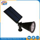 Éclairage solaire de jardin de rue de la lumière extérieure DEL de l'endroit IP65