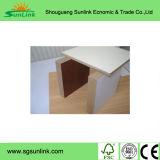 MDF de la chapa del diseño de la manera usado para la puerta de cabina de cocina