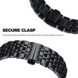 Cinturino di vigilanza dell'acciaio inossidabile di collegamento del metallo dei branelli di sport 7 dell'attrezzo per il cinturino di Samsung