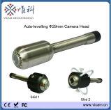 Caso que lleva de aluminio cámara de vídeo V8-1288kc del examen del tubo de aire de la chimenea del monitor de 8 pulgadas y del tubo de desagüe