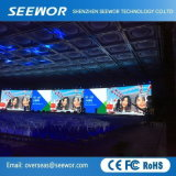 P6mm HD Innenmiete LED-Bildschirmanzeige mit der 192*192mm Baugruppe