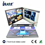 Verkaufsschlager 7 Zoll LCD videoc$broschüre-video Karte für Bussiness Einladung