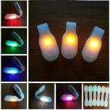 Luz corriente de la seguridad del clip del paño del silicón LED del imán