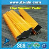 Libyen-Aluminiumprofil-Fenster-Tür-Puder-Mantel-hölzernes Korn