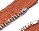 De Ritssluiting van het metaal met Bidirectioneel Open Eind/de Oranje Band van de Kleur en RubberTrekker/Hoogste Kwaliteit