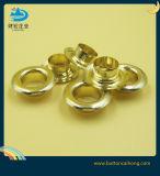 Покрытие Gold латунной металлической проушины для одежды, одежду и обувь