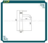 Vente chaude sanitaire, trou unique de l'eau du robinet en laiton