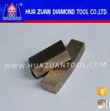Het Segment van het Blad van de Zaag van de diamant voor Scherp Marmer