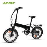 36V 250W 20polegadas Homologação CE de bicicletas eléctricas de dobragem