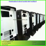 Kundenspezifischer Unterhaltungs-Geräten-Schlitz-Schrank durch die CNC maschinelle Bearbeitung