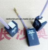 Щетка E49R75 углерода в форме графита национальной ранга предложения Electro