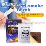 Здоровья естественного травяного PU материала против курения патч прекратить курение патч