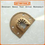 lámina rápida oscilante de Multitool del retiro de la lechada del ajuste del carburo de 70m m (2-3/4 '')