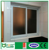 Pnoc080817LS 3vía ventana deslizante con el diseño de parrilla