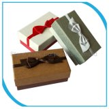 I regali di carta dei monili che impaccano la casella per monili Video-Guarda, collana