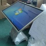 """Alto brillo 55"""" LCD de pantalla táctil de Suelo Quiosco interactivo"""