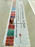 Impresión modificada para requisitos particulares al aire libre que hace publicidad de la impresión de Digitaces de la bandera del PVC del vinilo (SS-VB26)