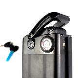 Descarga de fundo recarregável 36V 10AH Tipo bateria Ebike peixe prateado