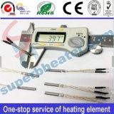 Электрический нагревательный элемент патронного нагревателя с контролем температуры