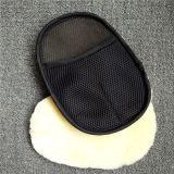 Microfiberのシュニールのカーウォッシュのクリーニングのミットタオルの洗浄のミット