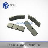 Plaque non standard élevée de carbure cimenté de résistance à l'usure de Zhuzhou