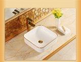 Санитарные продовольственный Golen табличка стороны раковина для ванной комнаты (C1193)