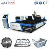 Qualité 3 ans de Han de garantie machine de découpage de laser en métal du laser 1000W