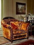 0026 Color oscuro real tejido de estilo clásico Sofá