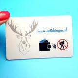Design personalizado Protector da carteira de impressão do cartão de bloqueio de RFID