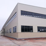 Gruppo di lavoro prefabbricato della struttura d'acciaio della costruzione di inquadramento